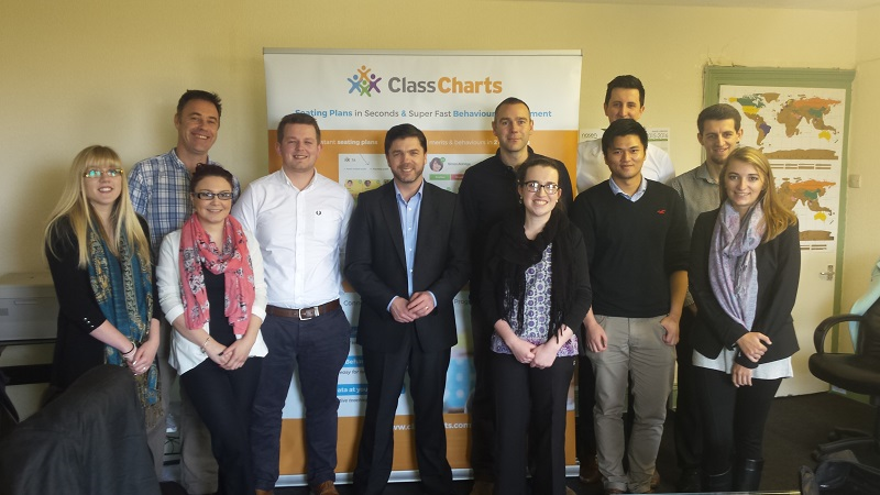 Steve Crabb Visits Edukey Class Charts Behaviour Management
