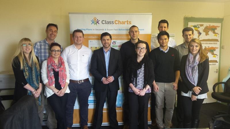 Steve Crabb Visits Edukey Class Charts Behaviour Management